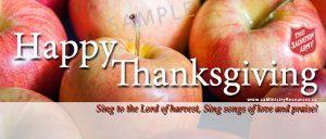 Happy Thanksgiving Facebook sample