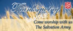 Thanksgiving Come Worship